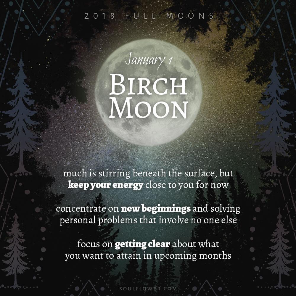 01 01 - 2018 Full Moons - January