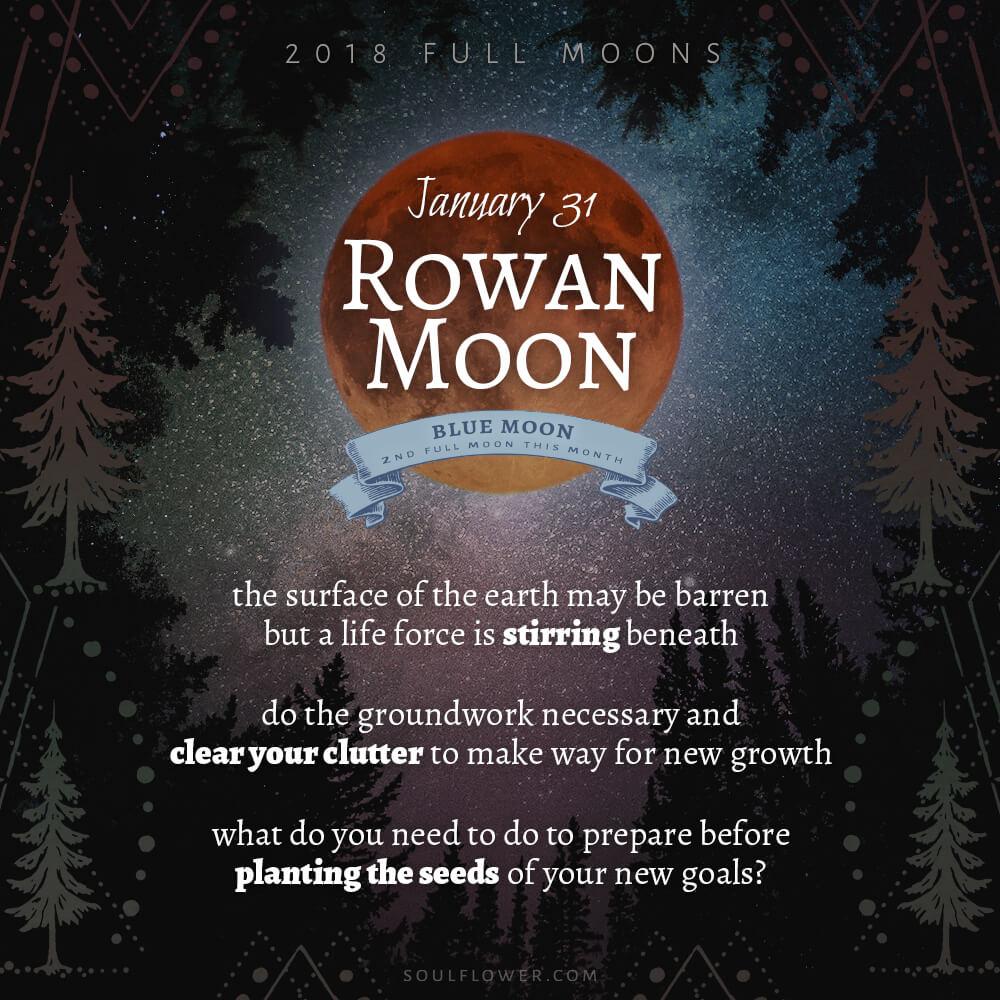 01 31 - 2018 Full Moons - January