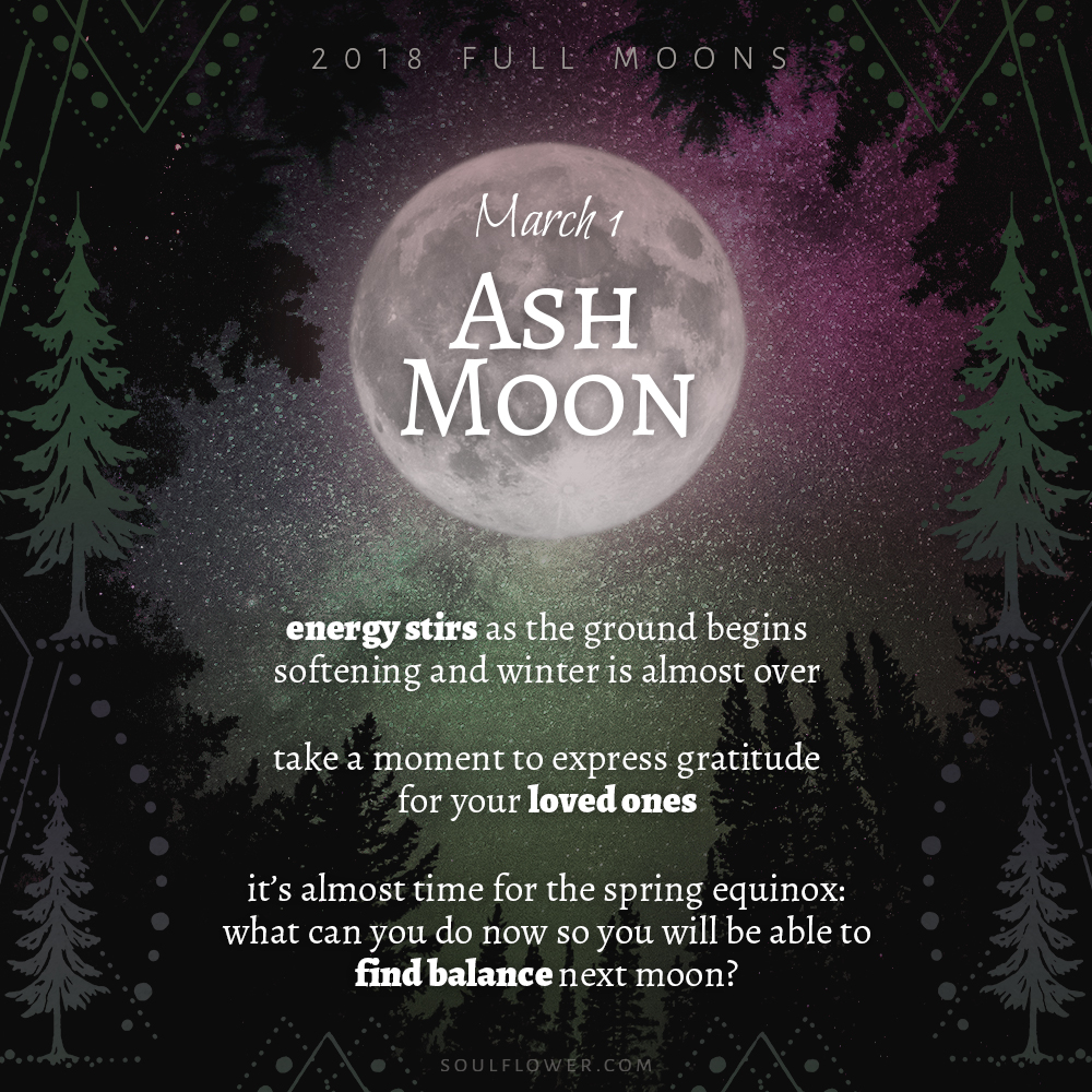03 01 moon - 2018 Full Moons - March