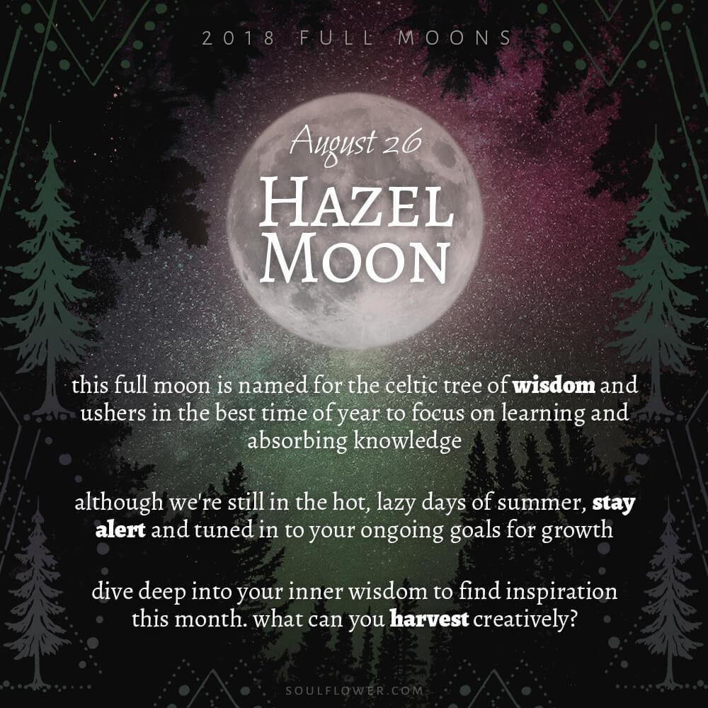 08 26 - 2018 Full Moons - August