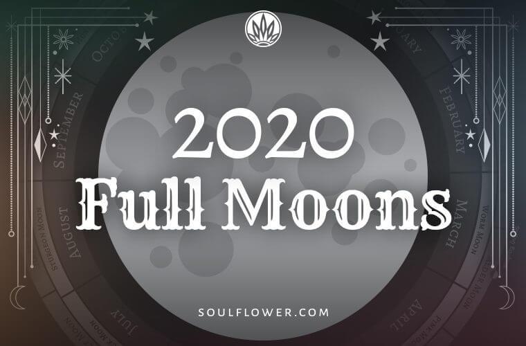 2020 full moon preview 760x500 - 2020 Full Moon Calendar - Full Moon Advice