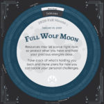 Full Moon Calendar 2020 - January Full Moon Advice