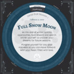 Moon Calendar 2020 - February Full Moon Advice
