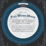 Moon Calendar 2020 - March Full Moon Advice