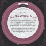 Moon Calendar 2020 - June Full Moon