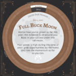 Moon Calendar 2020 - July Full Moon