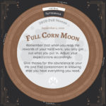 Moon Calendar 2020 - September Full Moon