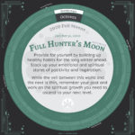 Moon Calendar 2020 - October 2nd Full Moon