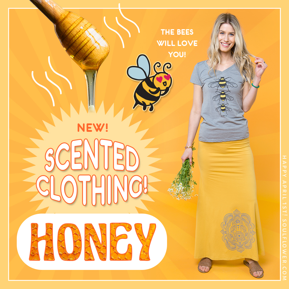 4 1 honey - Introducing: New Scented Clothing