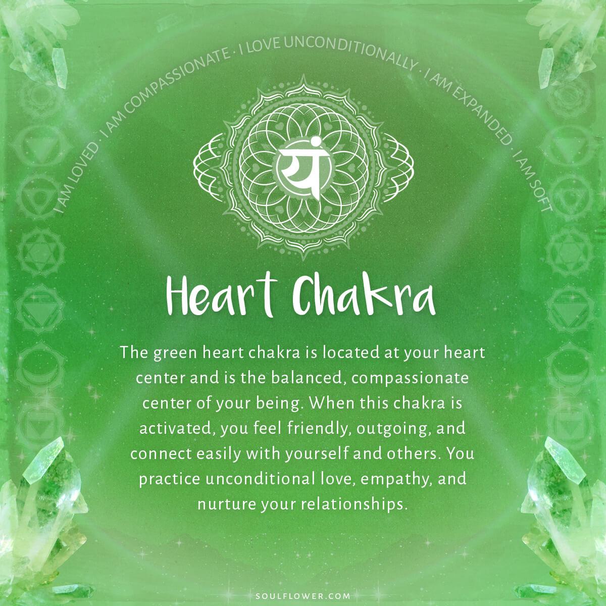 4th chakra heart - Chakra Chart Meanings