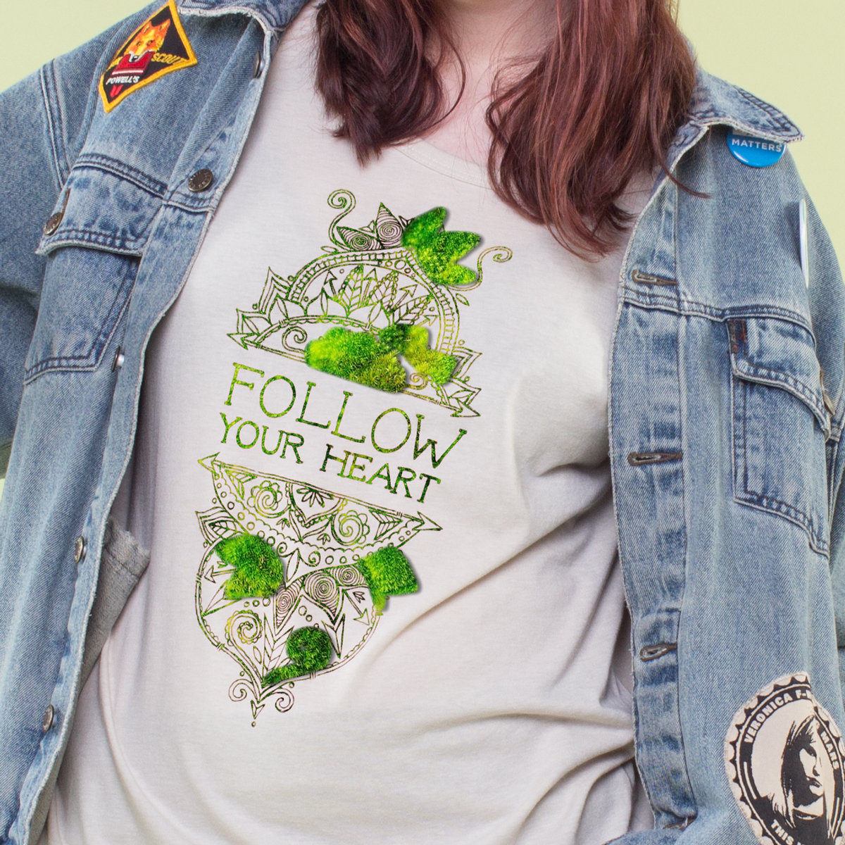 AprilFools 02 - Introducing: Flower Sprouting Tees!