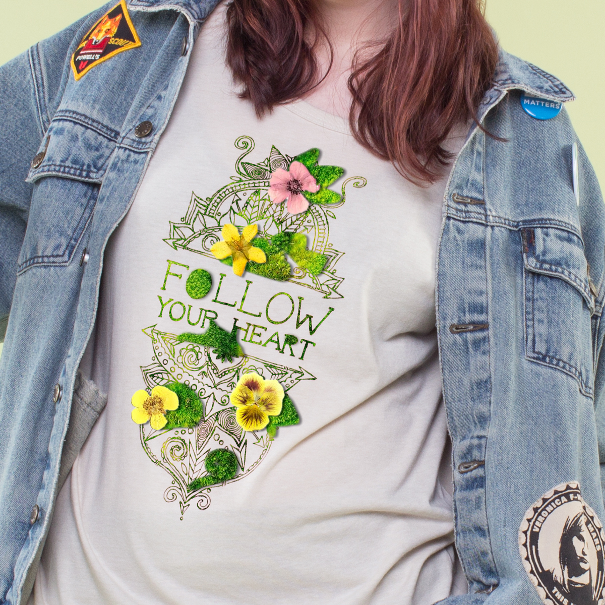 AprilFools 03 - Introducing: Flower Sprouting Tees!