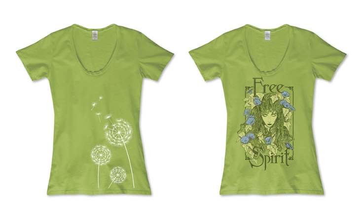 Pantone Color of the Year: Greenery | Soul Flower Blog | Soulflower | Hippie Clothes | Boho | Eco-Friendly Clothes | Organic