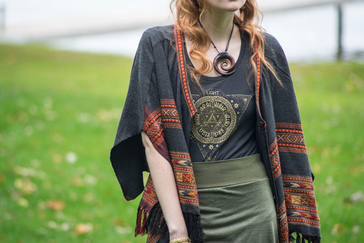 Merkaba Shirt - Sacred Geometry T Shirts - Behind the Design