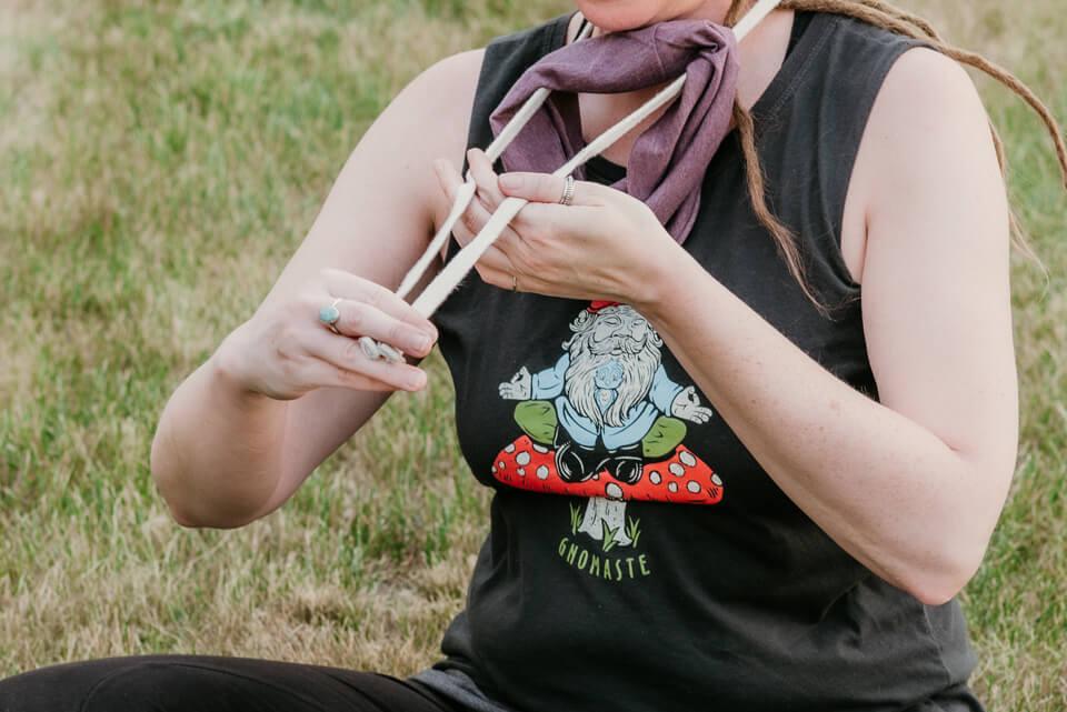 Covid19 Boho Hippie Mask 10 - Boho Headbands, COVID-19 Edition