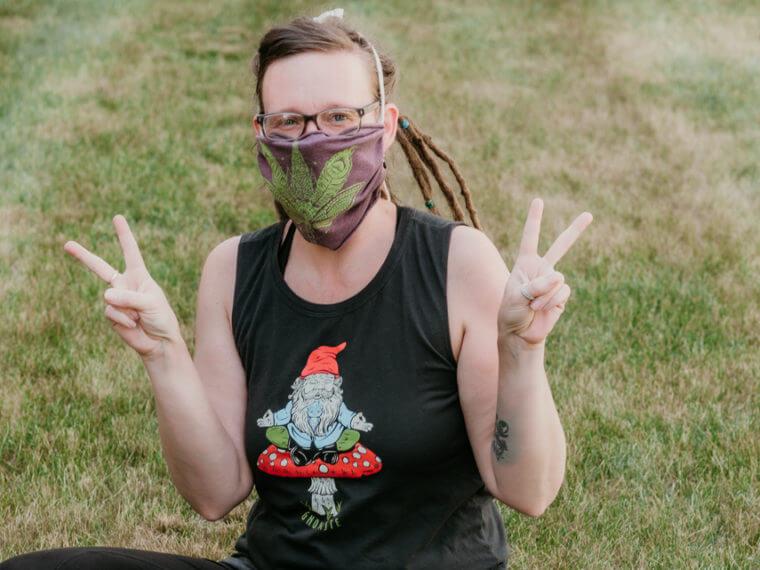 Covid19 Boho Hippie Mask 16 760x570 - Boho Headbands, COVID-19 Edition