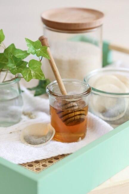 DIY Scrub1 - DIY Green Tea Sugar Scrub