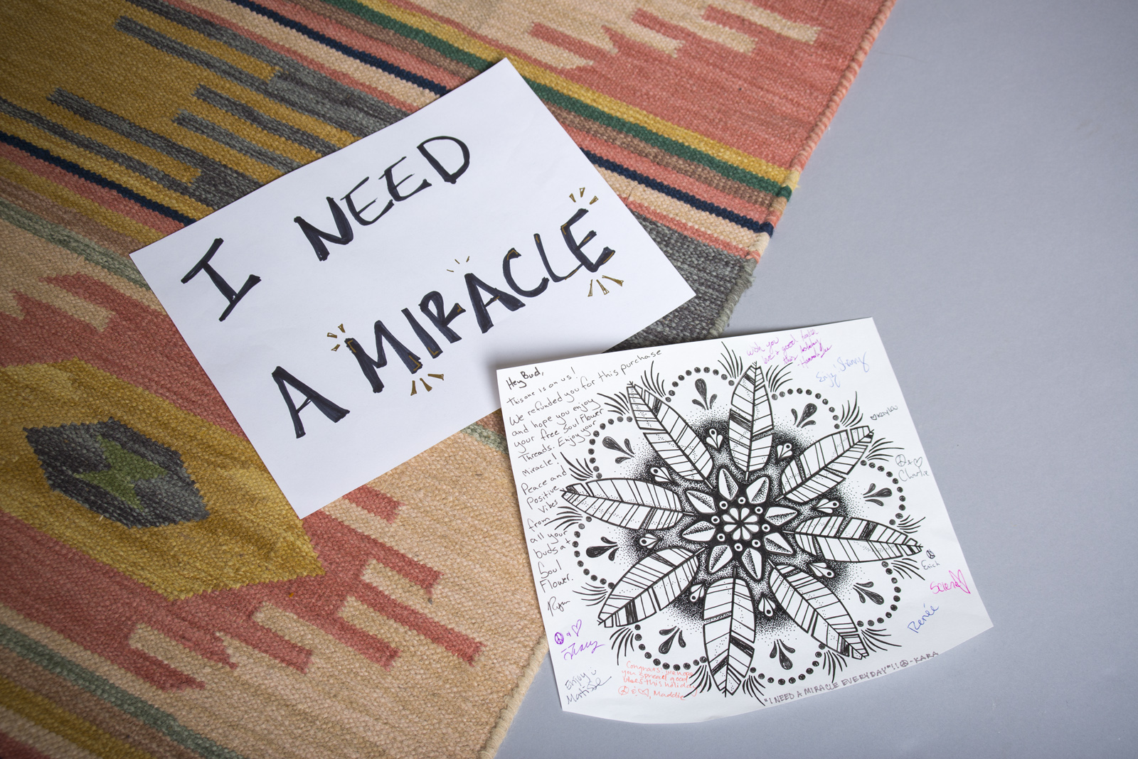 I Need a Miracle | Soul Flower Blog | Soulflower | Grateful Dead | Giveaway