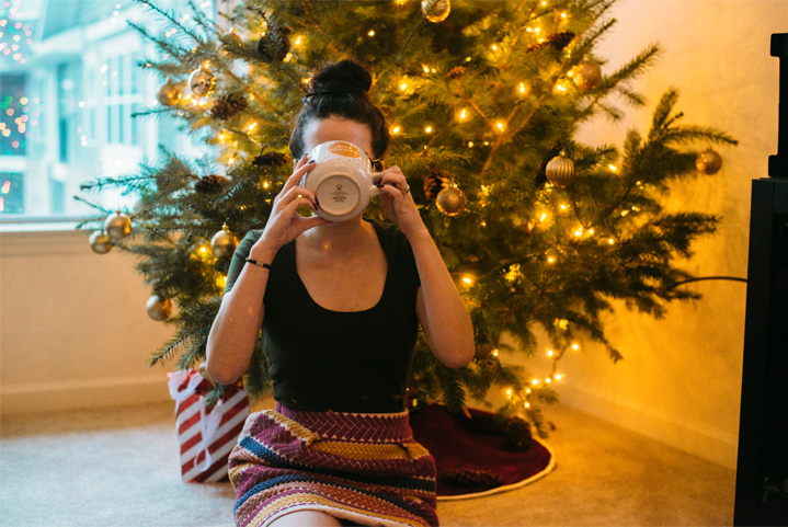 Gearing up for Christmas... | Soul Flower Blog | Soulflower | Christmas | Holidays | Christmas Tree | Eco-friendly