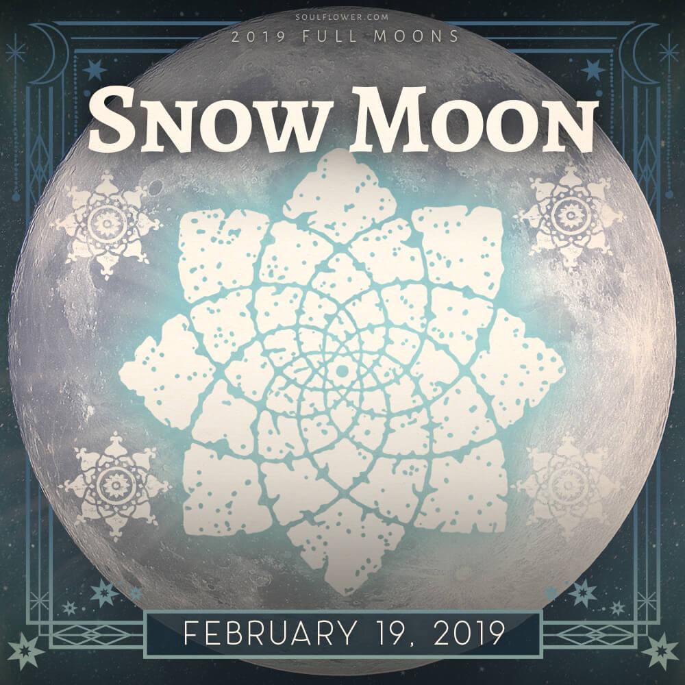 Feb 2019 full moon - 2019 Full Moon Calendar - Celebrate the Full Moon