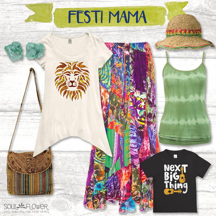 Festi ma - Soul Flower Mama Style Inspiration