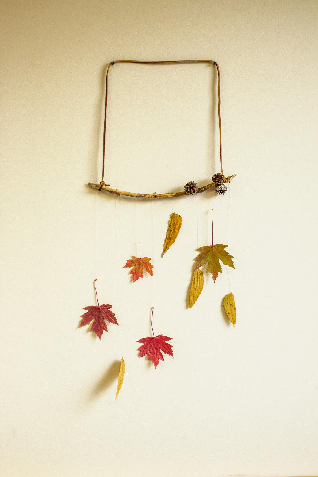 DIY Leaf Mobile - Make a Leaf Mobile - Soul Flower Blog