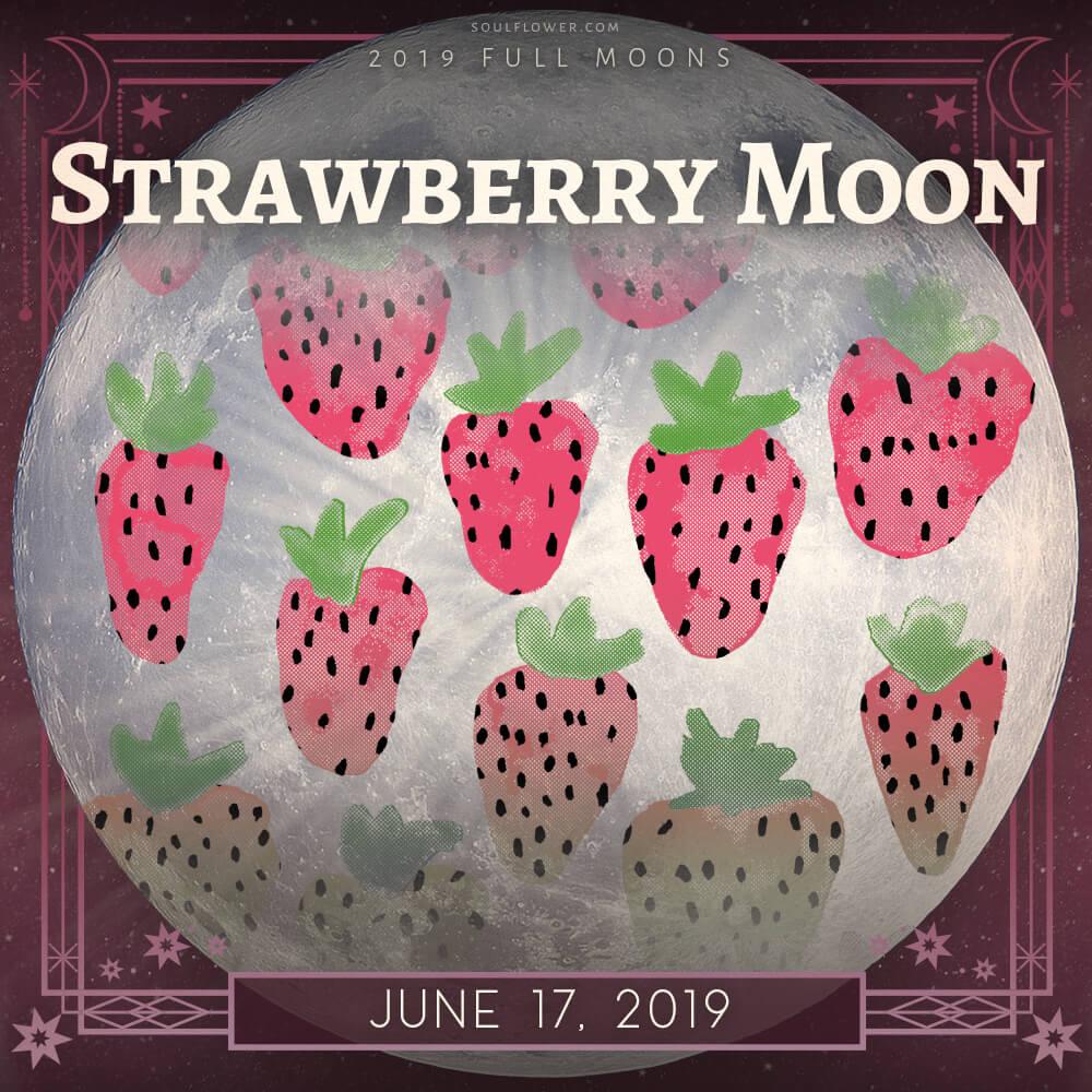 June 2019 full moon - 2019 Full Moon Calendar - Celebrate the Full Moon