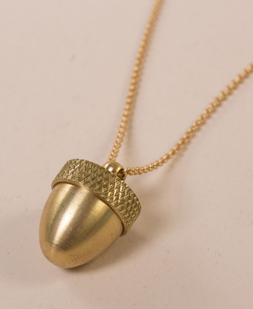Gifts for Tree Lovers - Tree Themed Gifts - Acorn Necklace