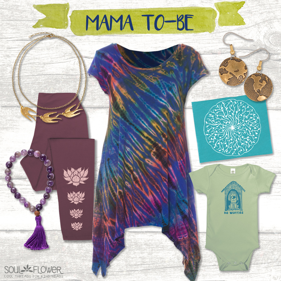 MA to be - Soul Flower Mama Style Inspiration