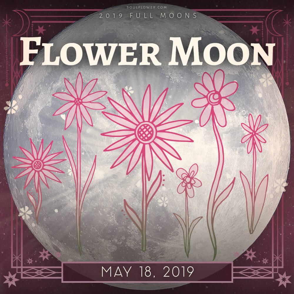 May 2019 full moon - 2019 Full Moon Calendar - Celebrate the Full Moon