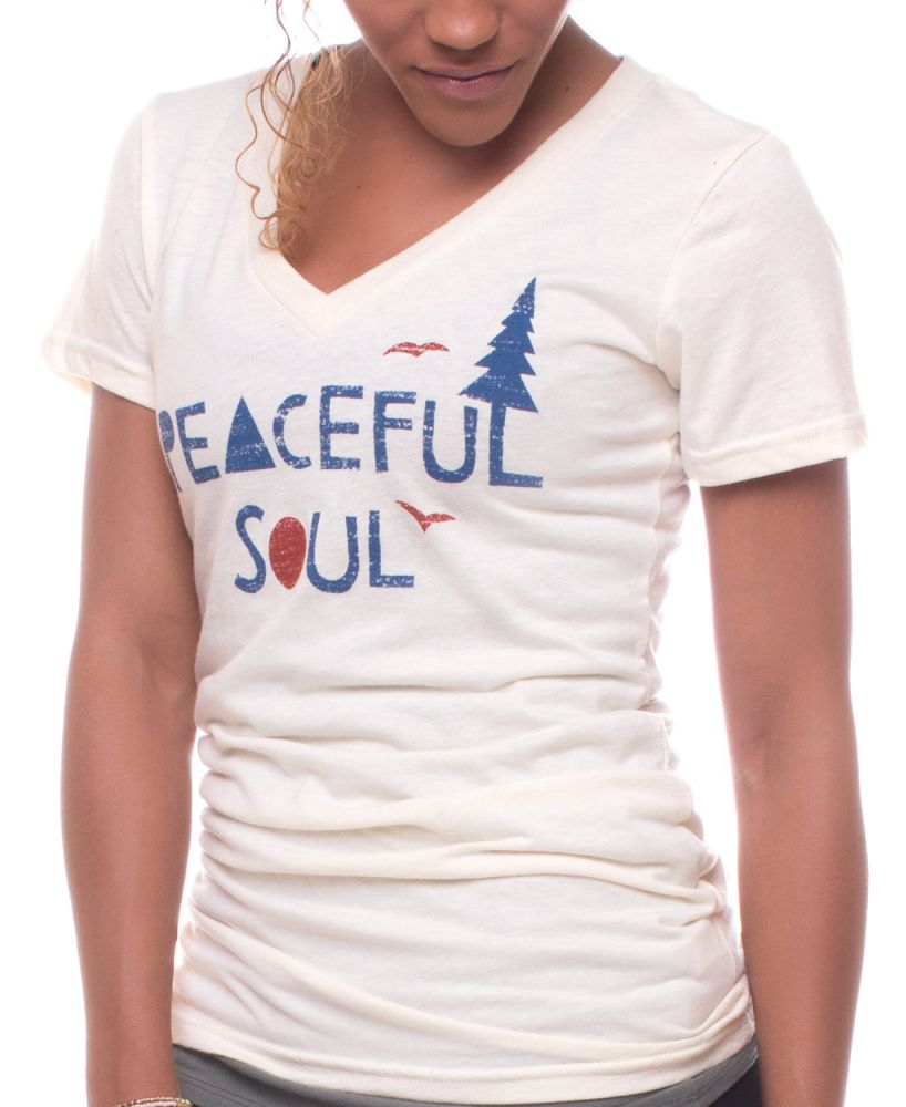 Peace Sign Gifts: Peaceful Soul Tee