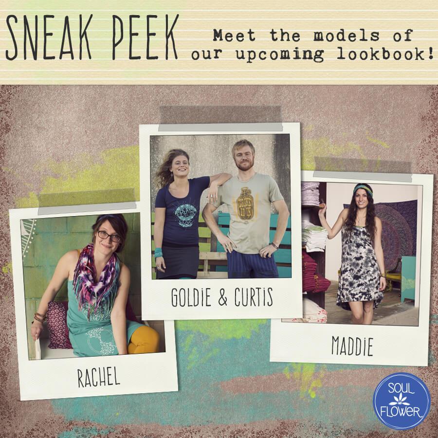 Sneak Peek Blog - 2015 Spring Look Book - Meet Maddie & Rachel