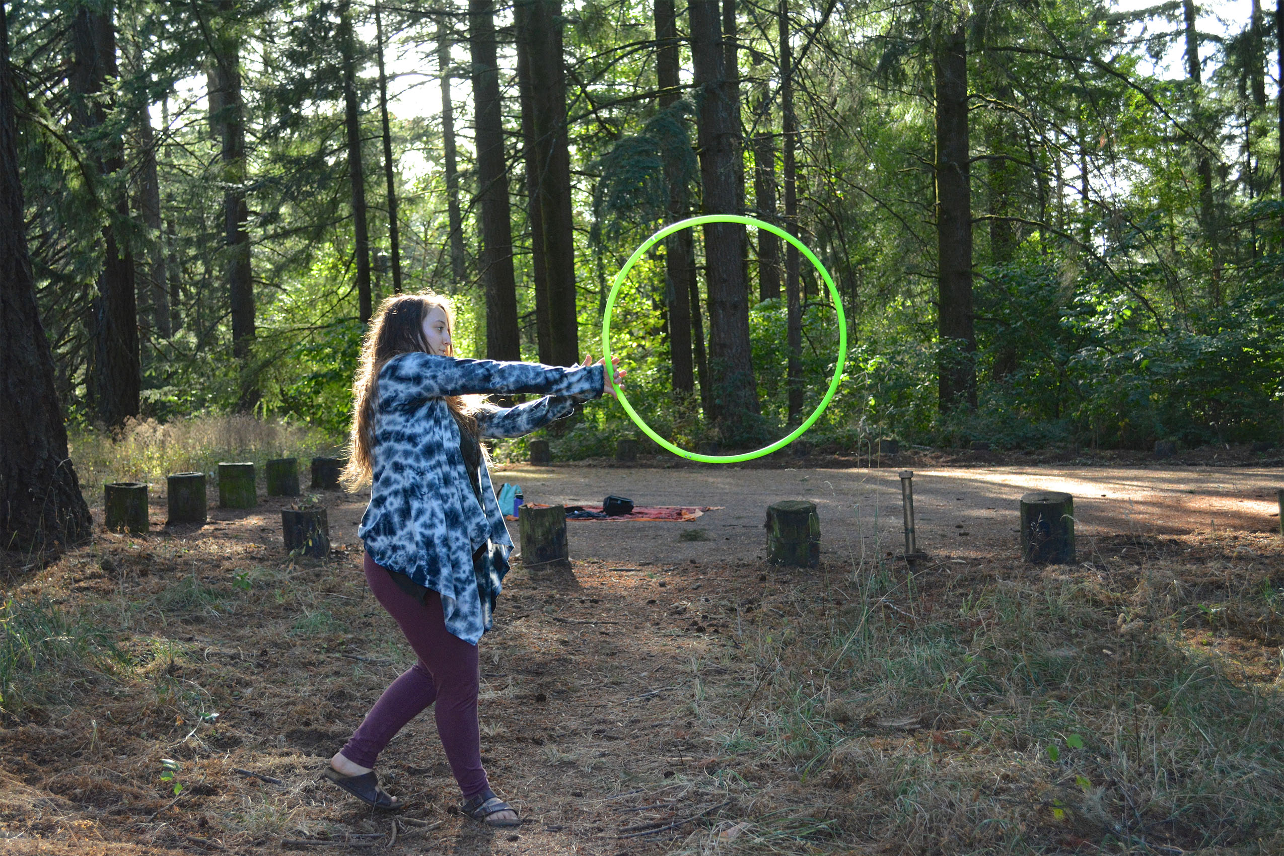 More Than Plastic Circles | Soul Flower Blog #hooping #vibetribe