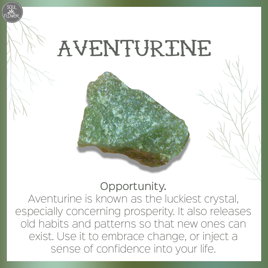 aventurine - which crystal speaks to your soul?