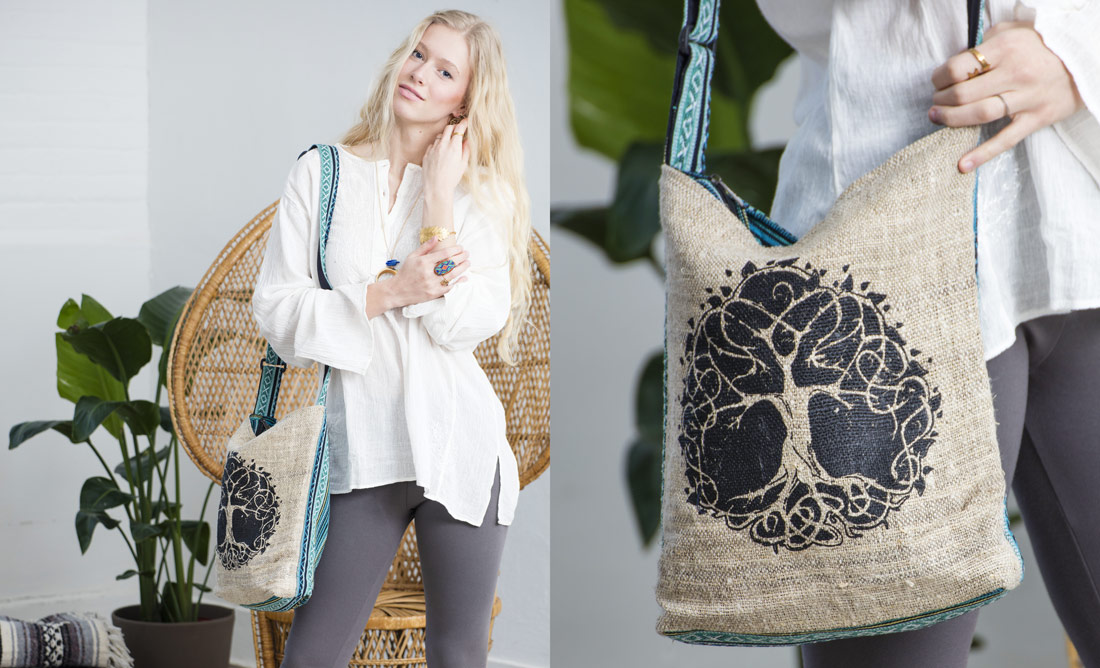 Hippie Hemp Bag Hippie Hobo Bag