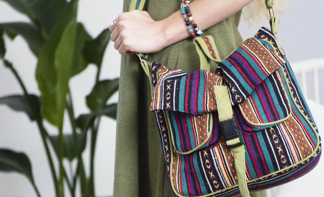 Hippie Messenger Bag Hippie Hobo Bag