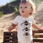 Bee Yourself Baby Onesie