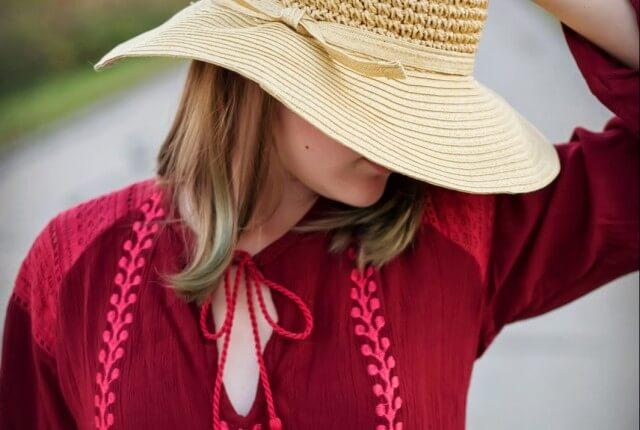 bohemian style soul flower e1423254650702 640x430 - Cranberry Wine Boho Dress & Corn Fields