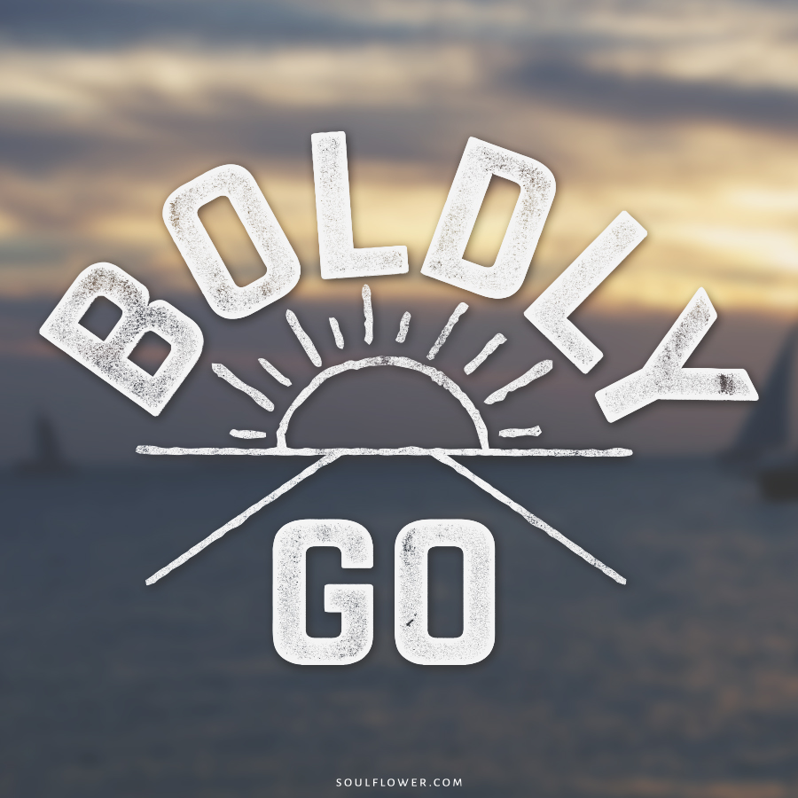boldly go - Positive Quotes (Inspiration, Move Me Brightly!)