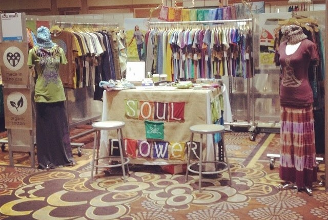 booth 640x430 - Soul Flower Booth at POOL in Las Vegas