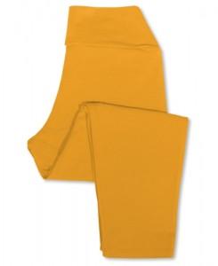 Soul Flower cropped organic leggings