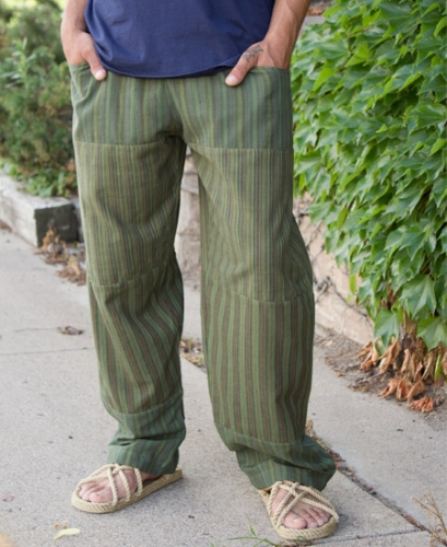 Gifts for a Hippie Dad - Patch Pants