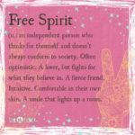 Free Spirit Definition