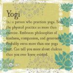 Yogi Definition