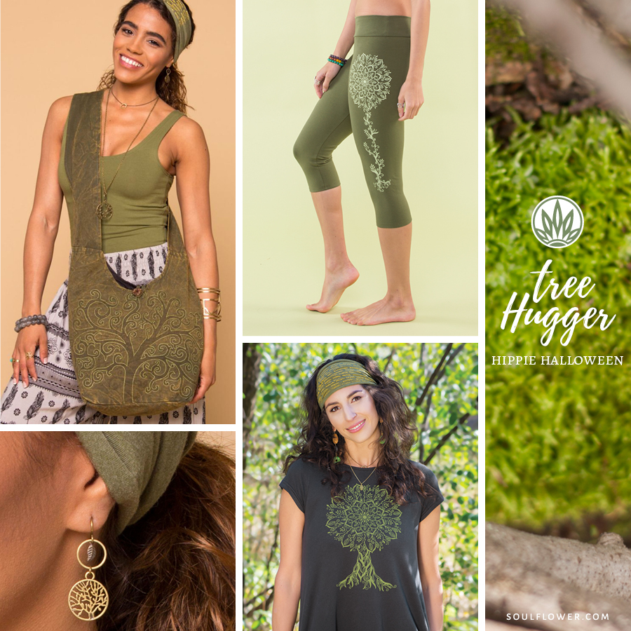 DIY Hippie Outfit - Tree Hugger