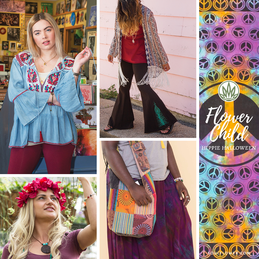 Hippie Outfit Ideas - Flower Child