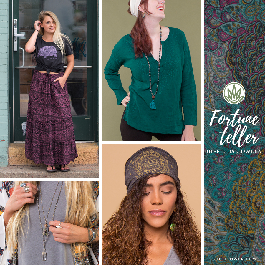 diy hippie halloween outfit hippie fortune teller outfits - DIY Hippie Outfit Ideas - Hippie Outfits for Every Day