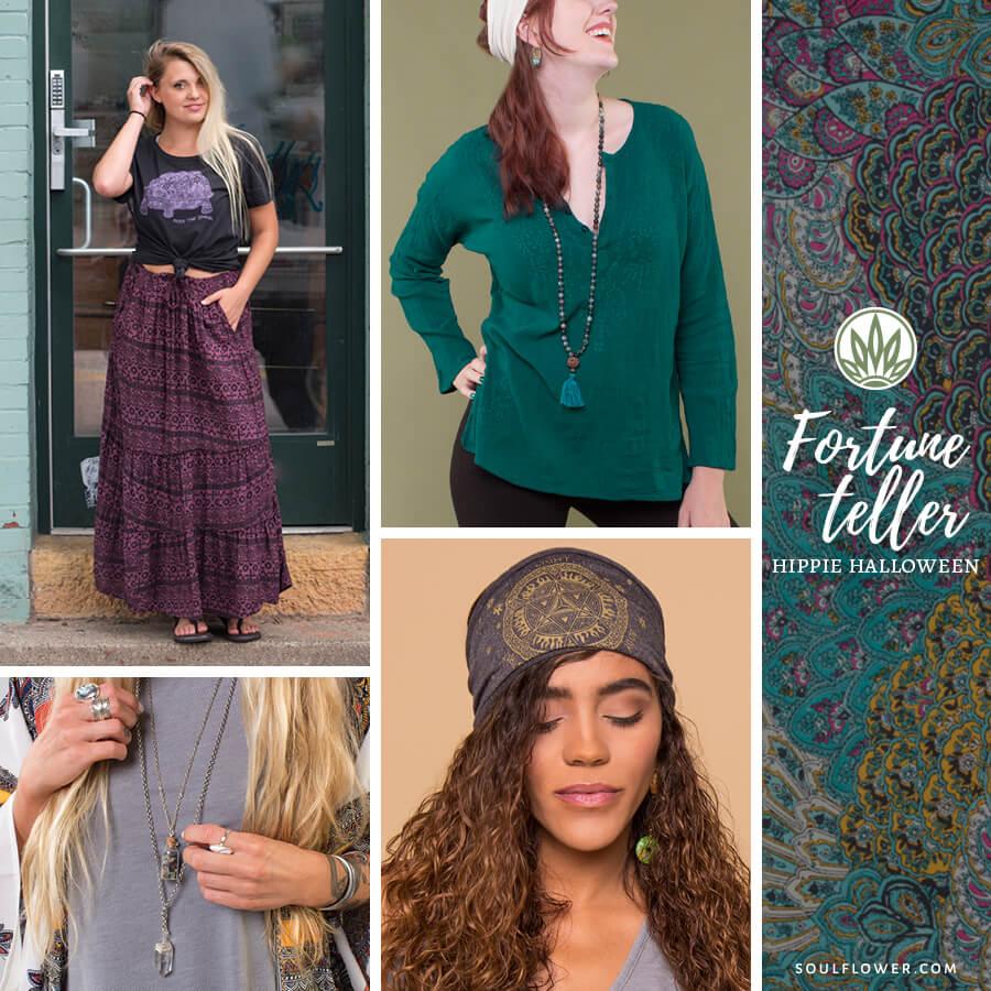 DIY Hippie Outfit - Hippie Costume - Fortune Teller