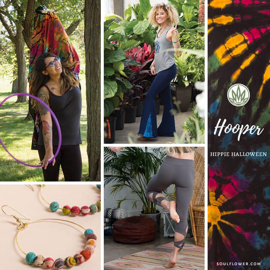 diy hippie halloween outfit hooping hula hoop - DIY Hippie Outfit Ideas - Hippie Outfits for Every Day