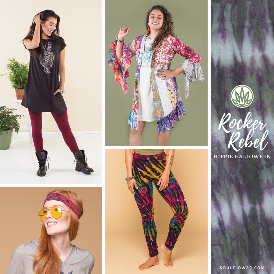 diy hippie halloween outfit ideas - hippie outfits - soul flower blog